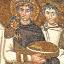 Mosaico de imagem religiosa