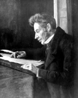gravura de Kierkegaard