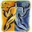 desenho de pessoa segurando em uma mão a balança da justiça e na outra um livro