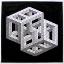 dois cubos unidos