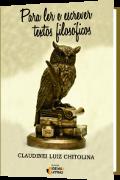 capa do livro para ler e pensar