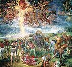 Michelangelo: A conversão de Saulo, Capela Paulina.<br><br>Palavras-chave: Michelângelo, renascimento, luz, cor, sombra, arte cristã, representação, arte, estética, filosofia da arte