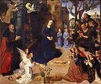 Peça central de O Retábulo de Portinari, de Hugo van der Goes, feito para uma família florentina.