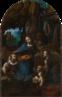 A Virgem dos Rochedos - Versão de Londres<br> (Segunda Versão) - 1495–1508<br><br>Palavras-chave: virgem, menino, crianças, Londres, da Vinci, virgem, renascimento, luz, cor, sombra, representação, arte, estética, filosofia da arte