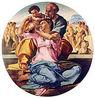 Michelangelo: Tondo Doni, c. 1504. Galleria degli Uffizi.