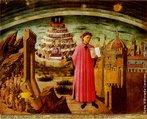 A Divina Comédia é um poema de viés épico e teológico da literatura italiana e da mundial, escrito por Dante Alighieri no século XIV e dividido em três partes: Inferno, Purgatório e Paraíso.<br><br>Palavras-chave: Dante, divina comédia, literatura, renascimento, arte, estética