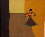Joan Miró i Ferrà (Barcelona, 20 de abril de 1893 - Palma de Maiorca, 25 de dezembro de 1983). Rainha Luisa da Prússia (1929). Óleo sobre tela. Dallas, Meadows Museum. Miró foi escultor, pintor, gravurista e ceramista surrealista catalão, com obras que revelam grande espontaneidade e outras em que se percebe a técnica feita com muito cuidado. Esse contraste também aparece em suas esculturas. Miró tornou-se mundialmente famoso e expôs seus trabalhos, inclusive ilustrações feitas para livros, em vários países. Durante o final da década de 1920, Miró desenvolveu linhas de trabalho em sua pintura: uma que mostrava um estilo sensual e opulento e, a segunda, que representava conteúdos mais austeros e com um marcado caráter intelectual.  <br><br> Palavras-chave: Miró, arte, surrealismo, rainha, Prússia, pintura, escultura, estética