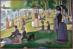Uma Tarde de Domingo na Ilha de Grande Jatte - 1884 - é uma pintura a óleo do francês Georges-Pierre Seurat, integrante do Movimento Impressionista, considerada sua obra mais destacada, feita em pontilhismo nos anos de 1884-86.