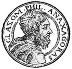 Selo de Anaxágoras. <br><br> Palavras-chave: Anaxágoras, conhecimento, selo, representação,  ciência, escola filosófica, filosofia, teoria do conhecimento