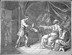 Representação da cena de morte do filósofo grego Sócrates, por ter sido contra as ideias dos atenienses e corromper a mente dos mais jovens.  <br><br> Palavras-chave: morte, Sócrates, condenação, filosofia, maiêutica, ironia