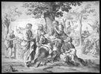 Sócrates e seus alunos, de Johann Friedrich Greuter (obra datada do século XVII).