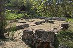 Local onde Sócrates ficou preso antes de morrer.