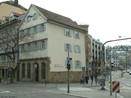 O local de nascimento do filósofo alemão Georg Wilhelm Friedrich Hegel (Stuttgart, 27 de agosto de 1770 — Berlim, 14 de novembro de 1831), em Stuttgart, que agora abriga o Museu de Hegel. <br><br> Palavras-chave: Hegel, museu, Stuttgart, idealismo, filosofia política, estética, teoria do conhecimento.