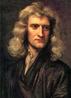 Newton retratado por Godfrey Kneller, 1689 (com 46 anos de idade)