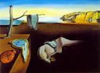 A Persistência da Memória (em espanhol: La persistencia de la memoria; em catalão: La persistència de la memòria) é uma pintura de 1931 de Salvador Dalí. A pintura está localizada na coleção do Museu de Arte Moderna (MoMA) de Nova Iorque desde 1934. É amplamente reconhecida e frequentemente referenciada na cultura popular.<br> Em sua auto-biografia, Dalí conta que levou duas horas para pintar grande parte da obra (do total de menos de cinco horas), enquanto esperava sua esposa, Gala, voltar de filme. Neste dia, o pintor se sentira cansado e com uma leve dor de cabeça, não indo ao teatro com sua esposa e amigos. Ao retornar do filme, Dalí mostrou a obra a sua esposa, vendo em sua face a &quot;contração inequívoca de espanto e admiração&quot;. Ele então, a perguntou se ela achava que em três anos ela esqueceria aquela imagem, tendo como resposta que &quot;ninguém poderia esquecê-lá uma vez vista&quot;.<br><br>Palavras-chave: memória, Dali, imagem, representação, teoria do conhecimento