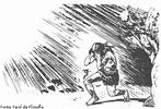 Ilustração de passagem da Alegoria da Caverna de Platão.